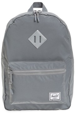 Herschel Boy's Heritage Reflective Backpack - Metallic