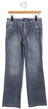 Ikks Girls' Embellished Jeans