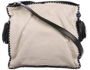 Loewe Leather Flamenco Crossbody Bag