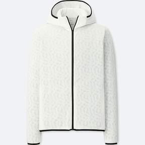 Uniqlo Men's Sprz Ny Dry-ex Long-sleeve Zip-up Hoodie (francois Morellet)