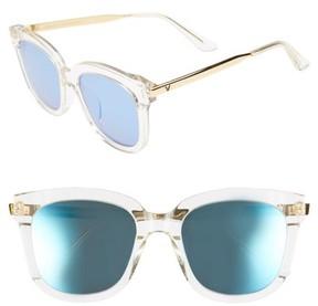 Gentle Monster Women's Absente 54Mm Zeiss Lens Sunglasses - Clear/ Gold