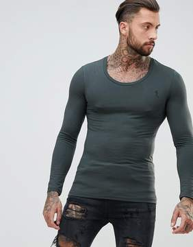 Religion Muscle Fit Long Sleeve T-Shirt