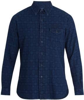 Polo Ralph Lauren Aztec-jacquard cotton shirt