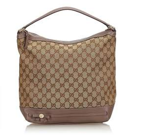 Gucci Pre-owned: Guccissima Jacquard Handbag.