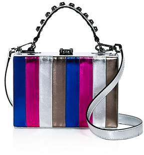 Nasty Gal Girl Boxx Metallic Striped Crossbody - 100% Exclusive