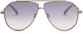 Stella McCartney Angular aviator sunglasses