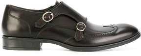 Pollini formal monk shoes