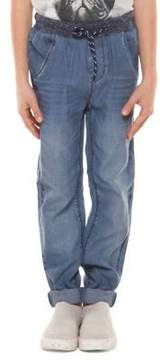 Dex Boy's Denim Jogger Pants