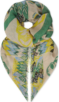 Zadig & Voltaire Kerry Feather Butterfly scarf