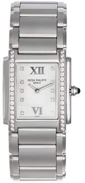 Patek Philippe Twenty-4 4910/10A Twenty-4 Stainless Steel Quartz 25mm Womens Watch