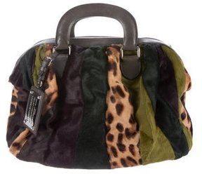 Dolce & Gabbana Ponyhair Miss Curly Bag - ANIMAL PRINT - STYLE