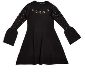 GUESS Studded Sweater Dress (7-16)