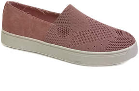 Bamboo Mauve Knit Grand Slam Slip-On Sneaker