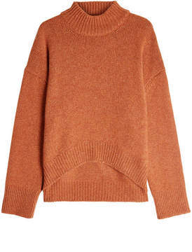 Brock Collection Cashmere Pullover with High-Low Hemline