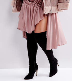Asos KARLA Wide Fit Over The Knee Boots