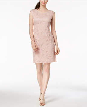 Connected Lace Sheath Dress