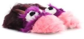 Anya Hindmarch Eyes shearling loafers