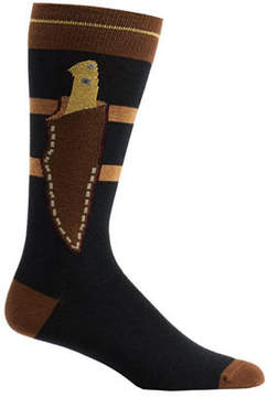 Ozone Men's Boot Knife Socks (2 Pairs)