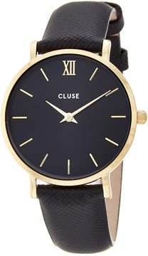 Cluse Women's Minuit Leather Watch