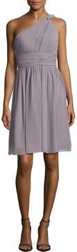 Donna Morgan Women's Rhea One-Shoulder Dress