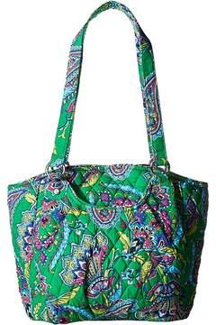 Vera Bradley Glenna Satchel Handbags - EMERALD PAISLEY - STYLE