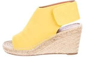 Celine Espadrille Wedge Sandals