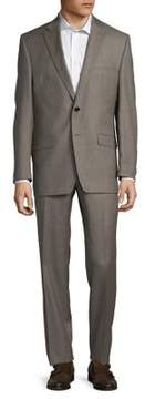 Lauren Ralph Lauren Sharkskin Wool Suit