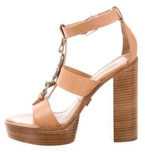 Michael Kors Embellished Platform Sandals