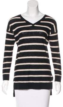 Vince Striped Long Sleeve Sweater
