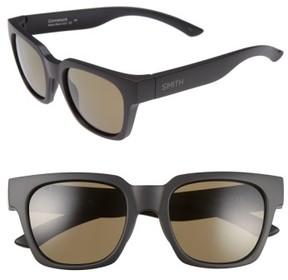 Smith Men's 'Comstock' 52Mm Polarized Sunglasses - Matte Black