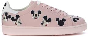 Moa Sneaker Mickey Mouse In Pink Leather