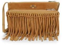 Zadig & Voltaire Stella Fringe Suede Crossbody Bag