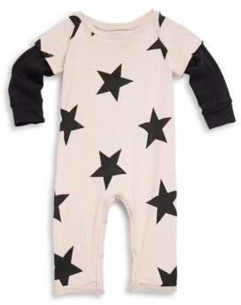 Nununu Baby's Star Cotton Playsuit