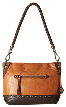 The Sak Indio Leather Demi Shoulder Handbags