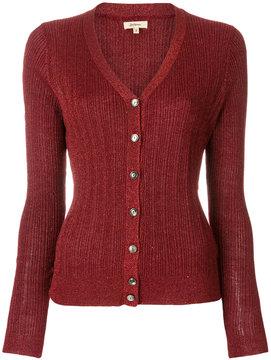 Bellerose metallic knit V-neck cardigan