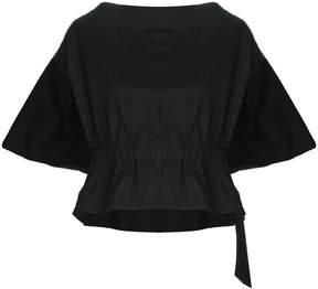 Comme des Garcons elasticated waist slash neck top