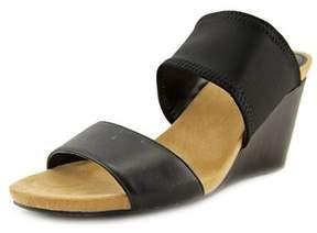 Alfani Parrker Open Toe Synthetic Wedge Heel.