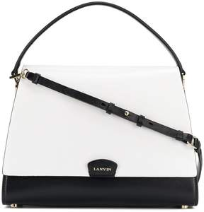 Lanvin small trapeze tote bag