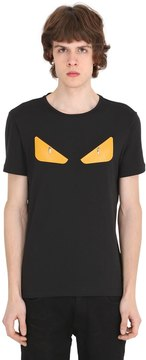 Monster Patches Cotton Jersey T-Shirt