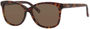 Safilo USA Polaroid 4022 Polarized Rectangle Sunglasses