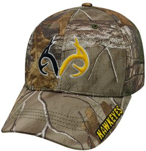 Top of the World Adult Iowa Hawkeyes Realtree One-Fit Cap