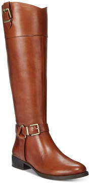 INC International Concepts Women's Fedee Wide-Calf Tall Boots, Created for Macy's Women's Shoes