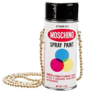 Moschino Couture Spray Paint Can Bag