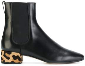 Francesco Russo chunky heel ankle boots