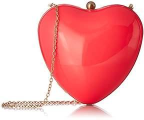 Betsey Johnson Hearts Don'T Lie Hard CASE Crossbody