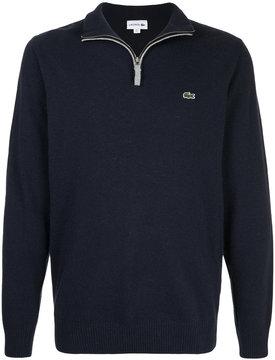 Lacoste half-zip jumper