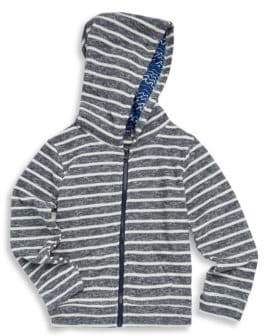 Andy & Evan Little Boy's Striped Hoodie