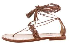Ulla Johnson Javi Lace-Up Sandals w/ Tags