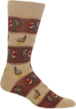 Hot Sox Men's Turkey Fair Isle Socks