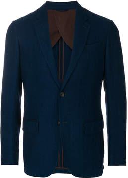Ermenegildo Zegna casual single-breasted blazer